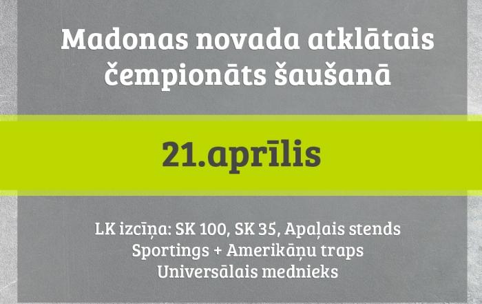 Palejas 21 aprilis